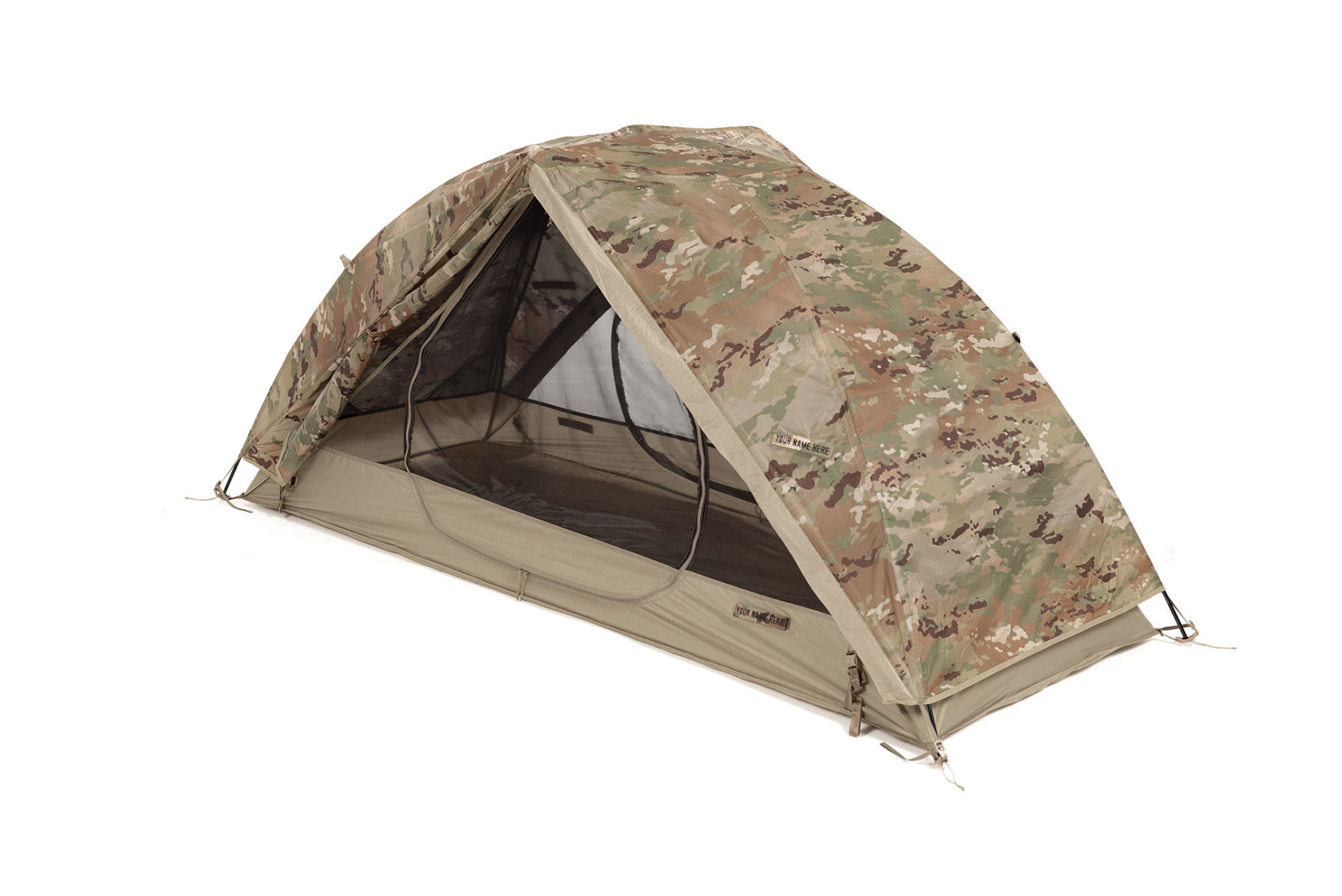 Litefighter 1 Individual Tent Shelter System Olive Drab OD Lightweight Portable